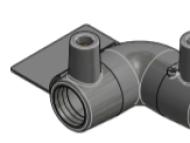 Codo 90° 20mm - PN16 - PE100 - E/F