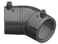 Codo 45° 180mm - PN16 - PE100 - E/F