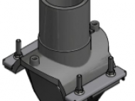 Collarin de toma 110x40mm - PN16 - PE100 - EF