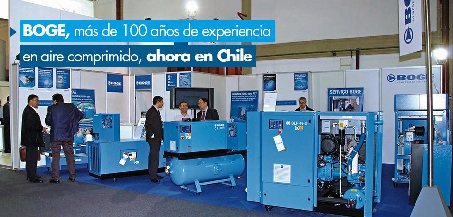 BOGE, más de 100 años de experiencia, también en Chile