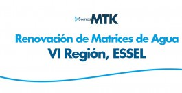 Renovación de Matrices de Agua, VI Región, ESSEL