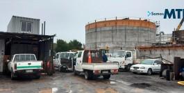Capacitación y puesta en marcha GRUNDOMAT 130P y Compresor KAESER M50, Constructora Pacífico
